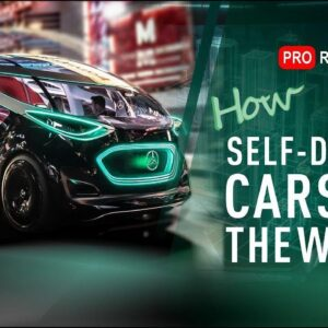 Self-driving cars & 6 levels of autonomy | Tesla Model Y | Waymo | Yandex | KAMAZ | How do they see?