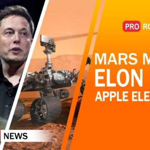 Mission to Mars, Elon Musk's Chip Project, Apple Electric Car, Humanoid Robots |  Technology News