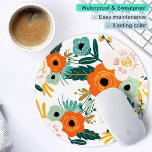 Review: ITNRSIIET Mouse Pad, Cute Cactus with Black Design Round Mousepad. Customized Gaming Mo...