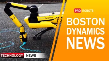 Boston Dynamics News | What can Robot Spot arm do? | Autonomous robots