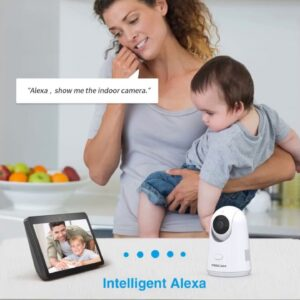 Review: Foscam Security Camera WiFi IP Home Camera, 2K/4MP 2.4/5GHz Wireless Pet Camera Baby Mo...