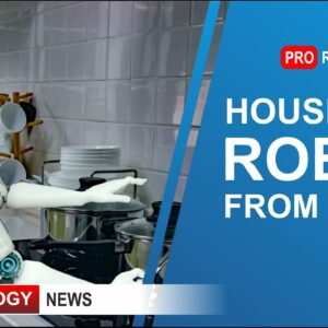 Housemaid Robot from Japan | High-Tech and Robotics News