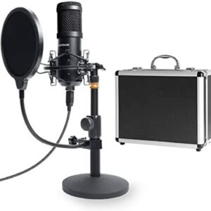 Review: USB Computer Microphone, SUDOTACK Condenser PC Mic kit for Streaming, Recording, Podcas...