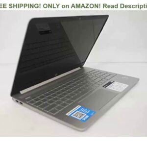 "Review: HP 15.6"" HD Intel 10th Gen i3-1005G1 3.4GHz 4GB RAM 128GB SSD Webcam Windows 10 Laptop..."