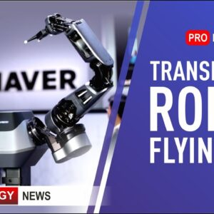 Transformer Robots | Innovations from Boston Dynamics | Flying Taxi | High Tech News