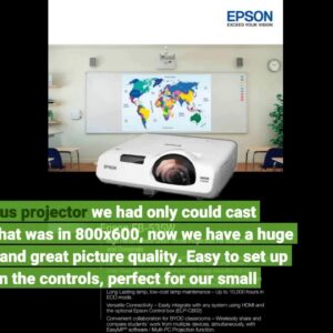 Review: Epson PowerLite 535W WXGA 3LCD Projector