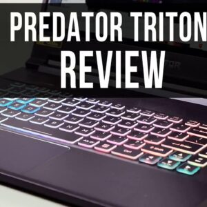Review: Acer Predator Triton 500 PT515-52-73L3 Gaming Laptop, Intel i7-10750H, NVIDIA GeForce R...