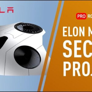 Unknown Project by Elon Musk: Tesla Model V Aircraft