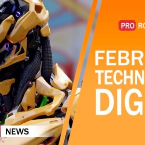The Newest Robots and Technologies of the Future: All February Technology News in One Issue!