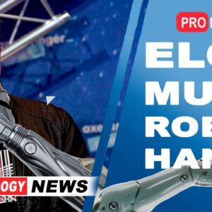 Elon Musk | New robots with robot arms | High-Tech News