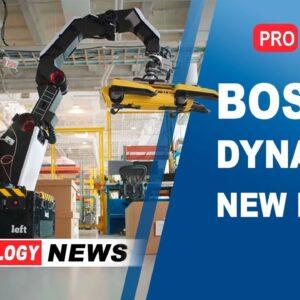 New Boston Dynamics robot | Elon Musk News | Autonomous robots