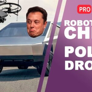 New Chinese Robot | Police Drone | Elon Musk's Cybertruck | Technology News