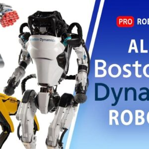 All Boston Dynamics robots | Evolution Boston Dynamics