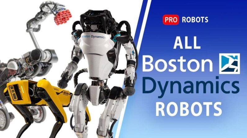 All Boston Dynamics robots | Evolution Boston Dynamics