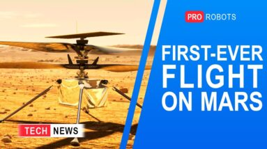 First controlled flight to Mars | Aerotaxi | Construction robots | Technology news