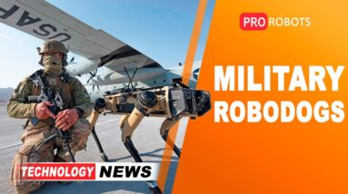 New military robots and augmented reality glasses for the U.S. Army | Joyce is Sophia's robot sister