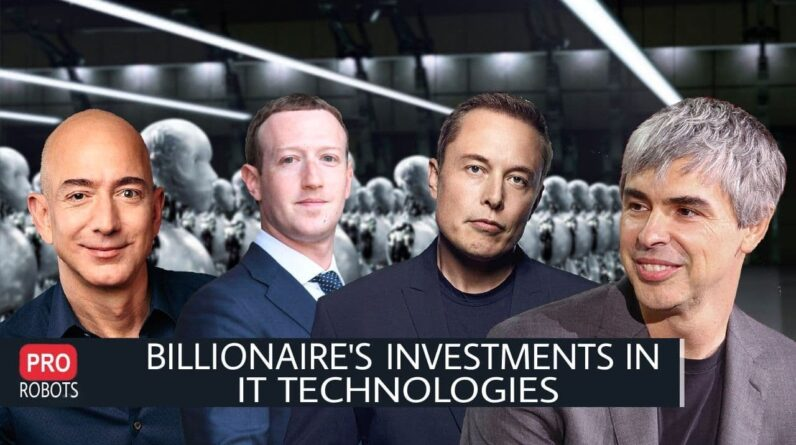 What technologies do IT billionaires invest in? | Investing in Technology