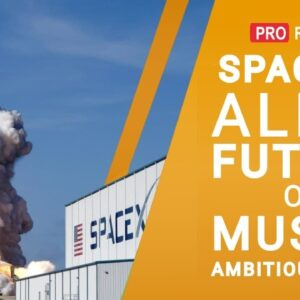 SpaceX - all about the project that could give a future on other planets