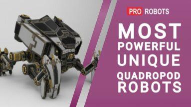 The Most Amazing Four-Legged Robots | Top Four-Legged Robots